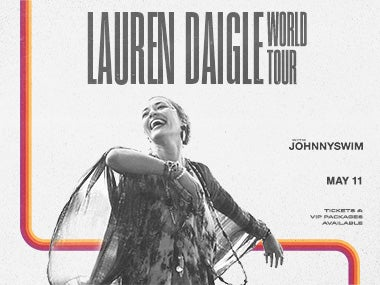 More Info forLauren Daigle World Tour - CANCELLED