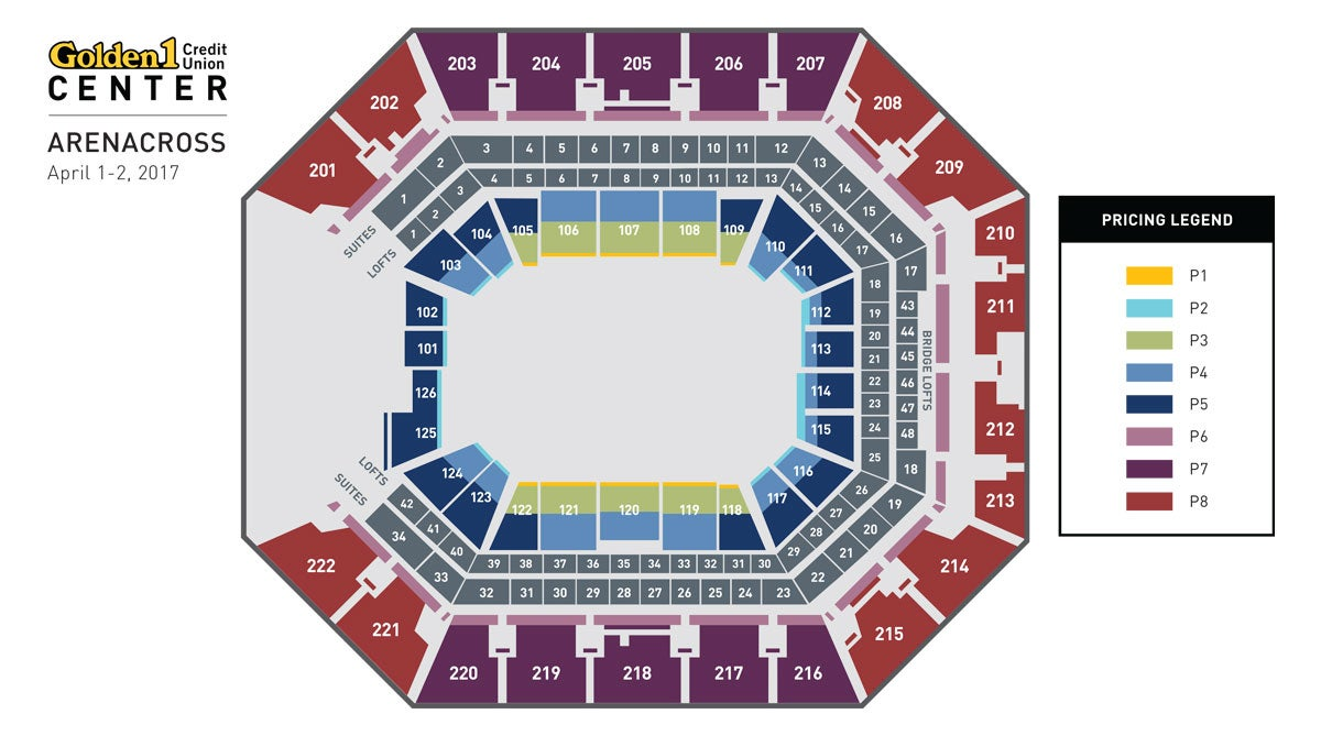 Amsoil Arenacross Golden1center