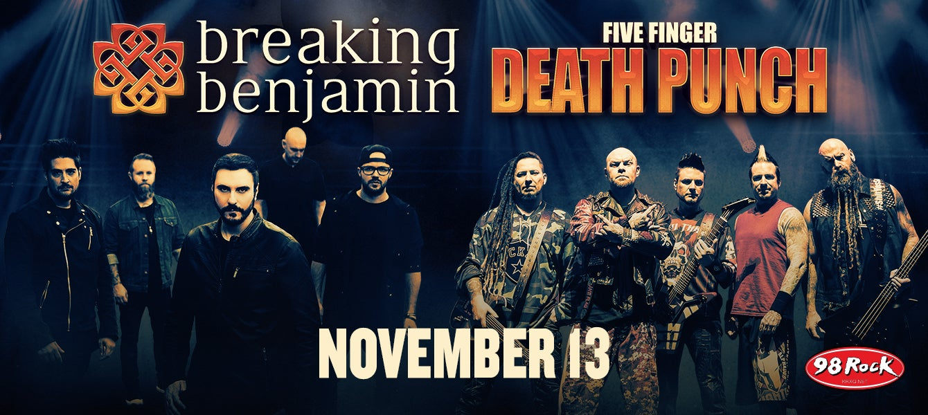 98 Rock Presents Breaking Benjamin And Five Finger Punch