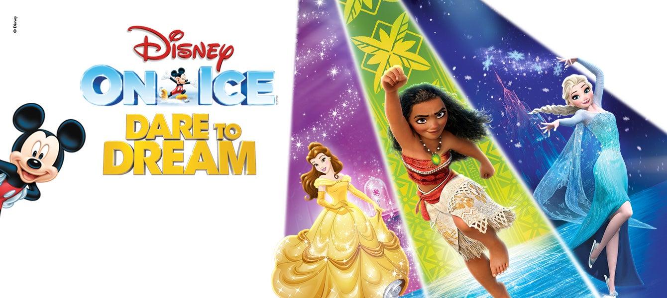 Disney On Ice Dare To Dream Golden1center