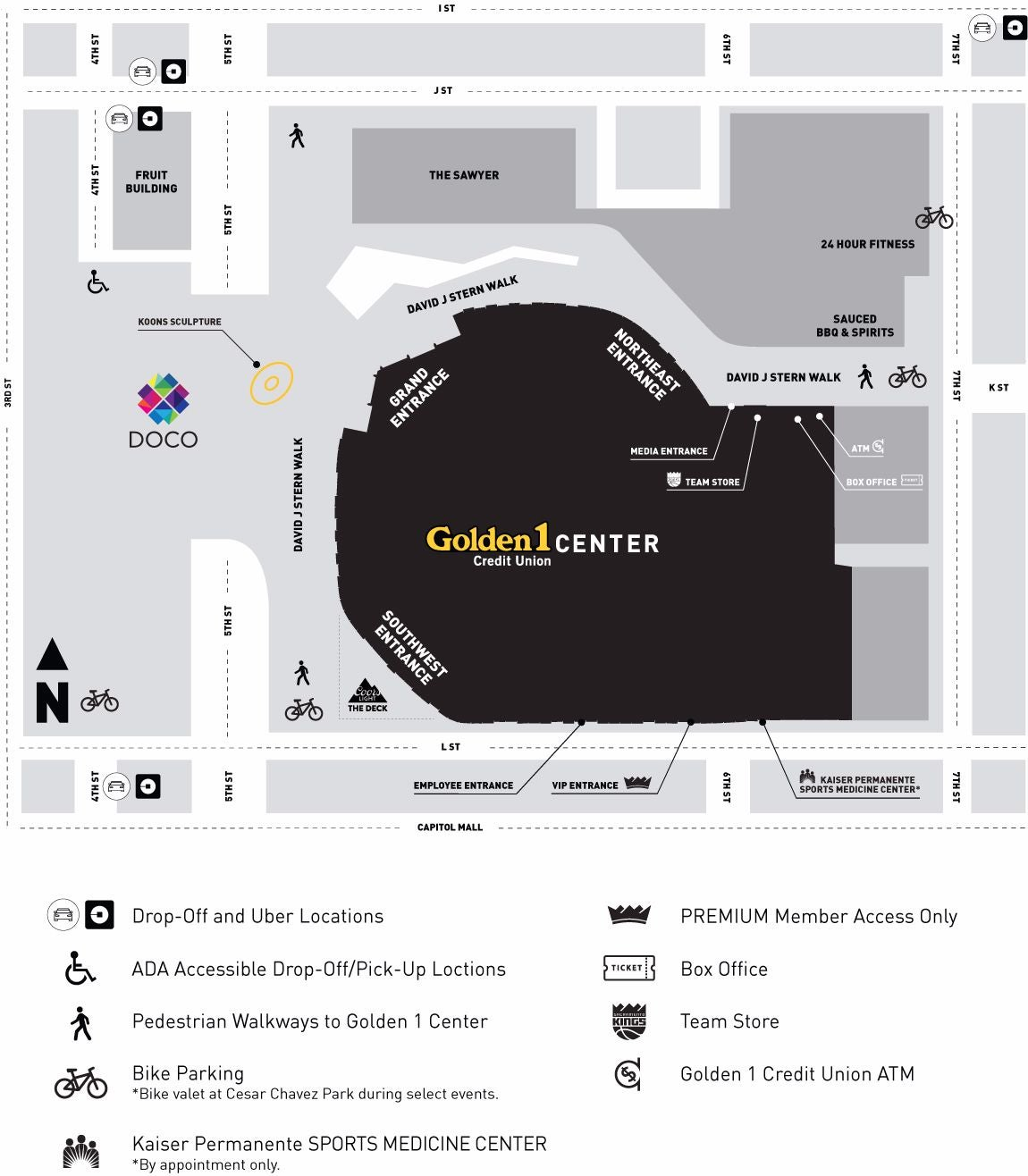 Maps | Golden1Center