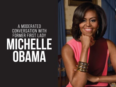 More Info forA Moderated Conversation with Former First Lady Michelle Obama - Postponed