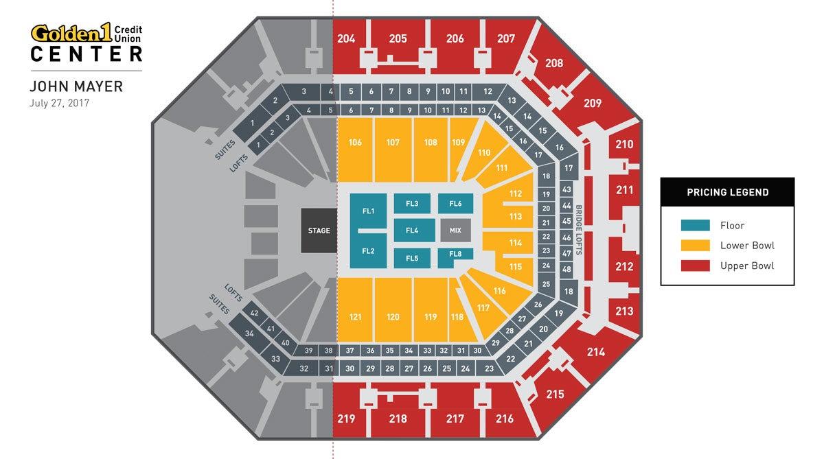 John Mayer Event Map