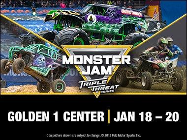 More Info forMonster Jam Triple Threat Series