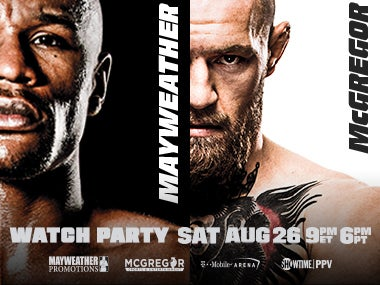 More Info forMayweather vs McGregor Watch Party