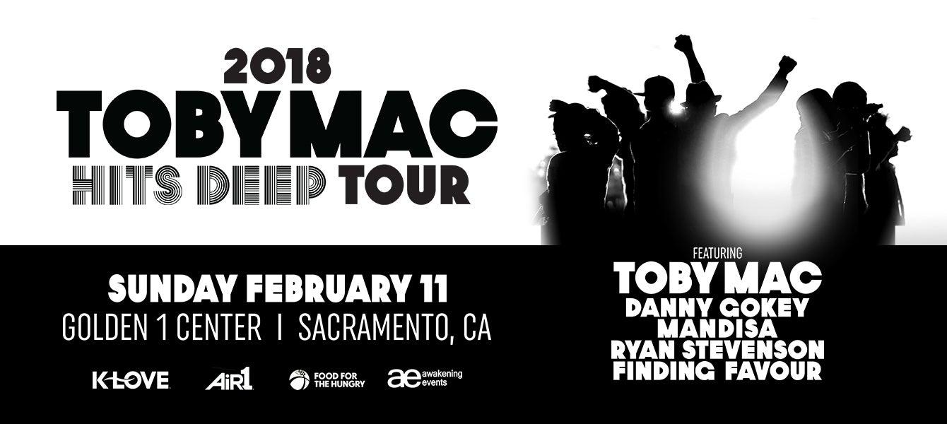 Tobymac, Hits Deep Tour 2018 | Golden1Center