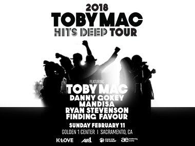 More Info forTobymac, Hits Deep Tour 2018
