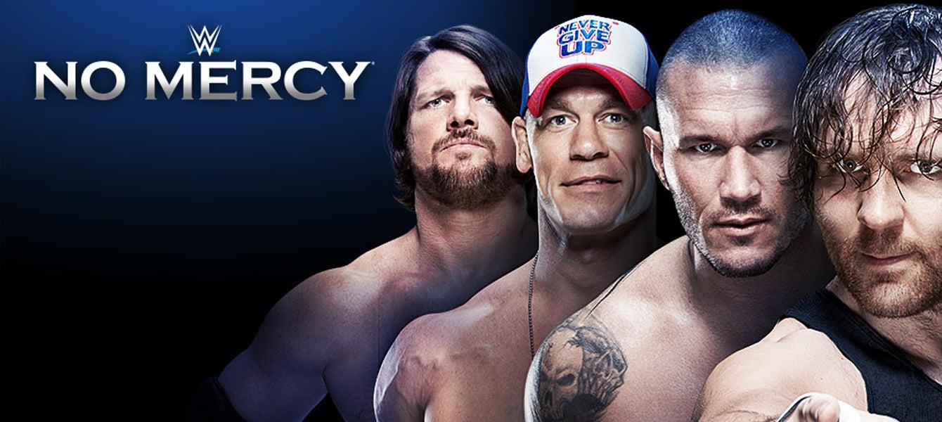 WWE NO MERCY Golden1Center