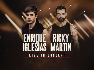 More Info forEnrique Iglesias and Ricky Martin - Rescheduled