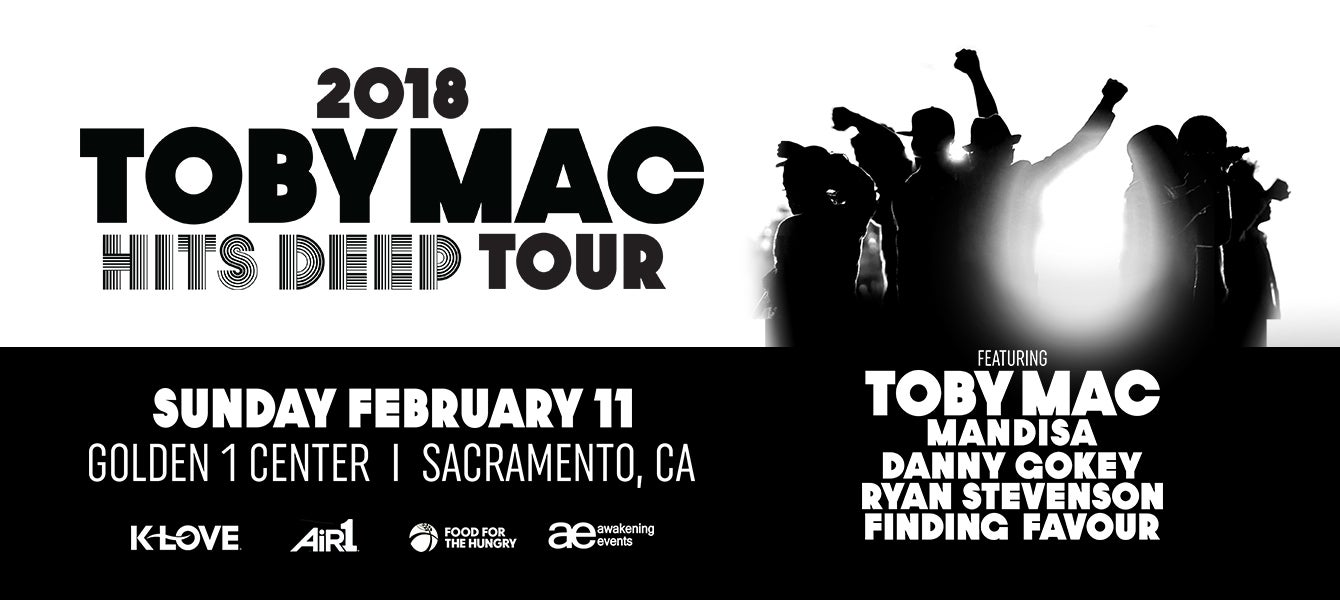 TobyMac Announces Hits Deep Dates to Begin Spring 2018 | Golden1Center
