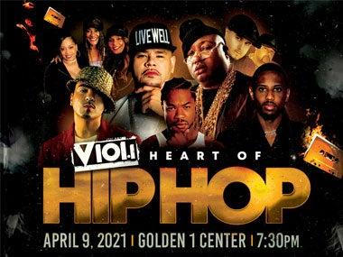 More Info forV101 Heart of Hip Hop - Rescheduled